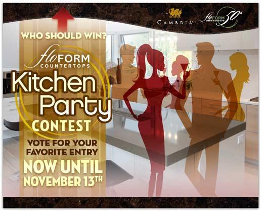 Floform Kitchen Party Facebook Contest