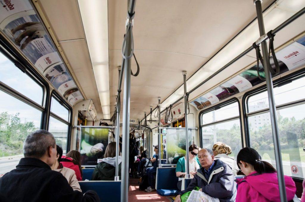 LRT interior Travel MB station domination