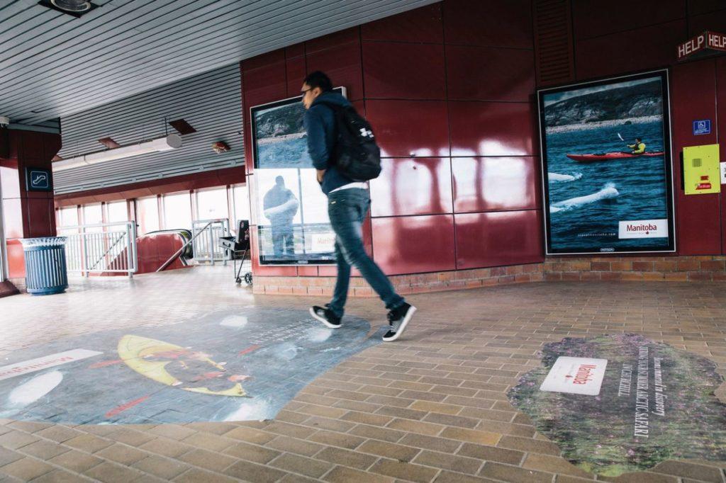 decals indoor station Travel MB