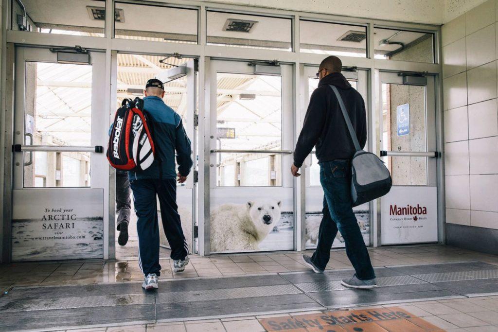polar bear door station Travel MB