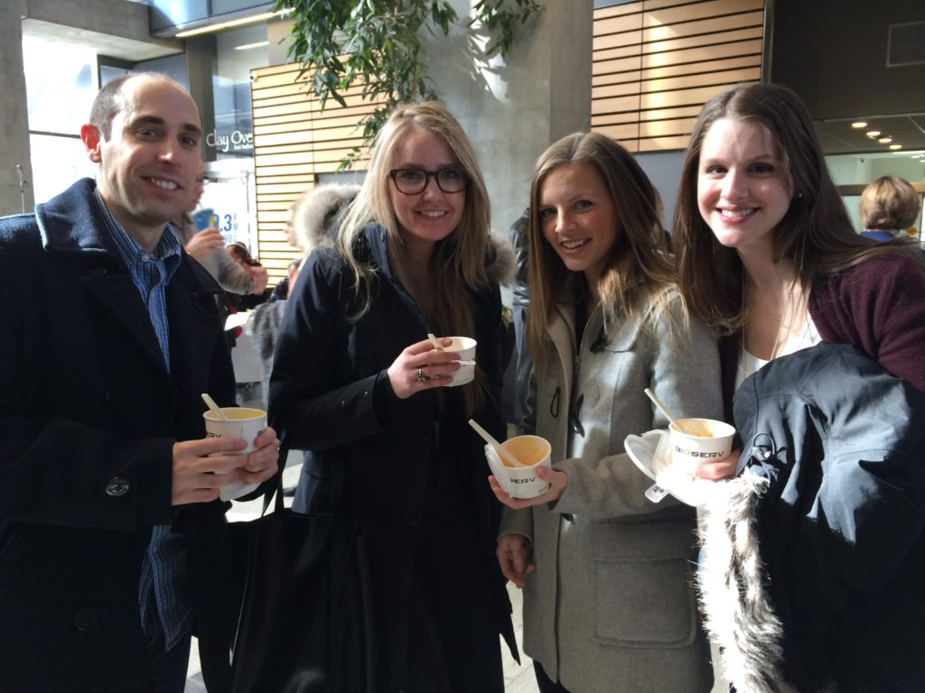 Neil, Katie, Tamara and Kathryn at Stone Soup 2015